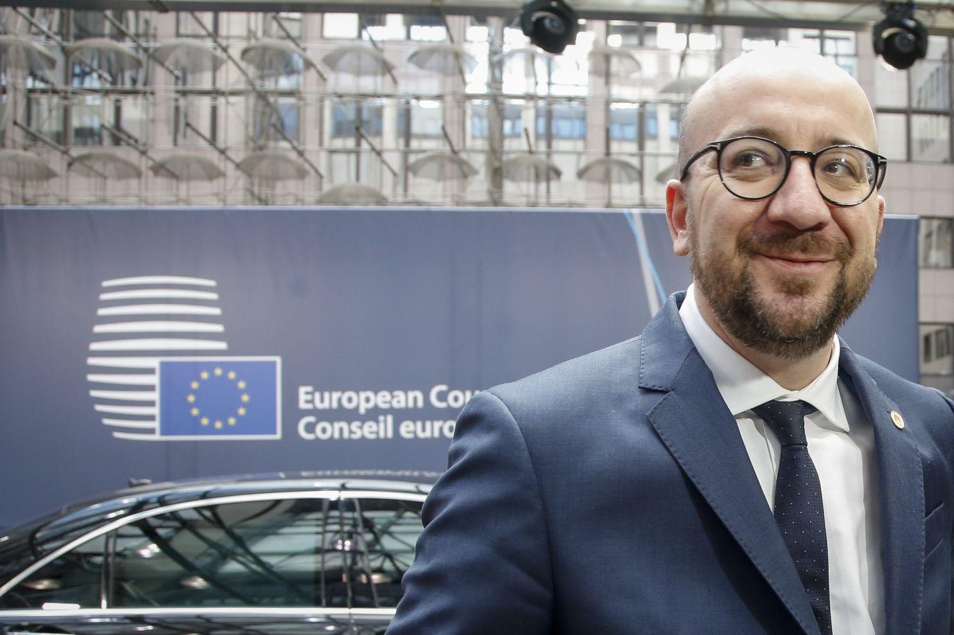 Przewodniczący Rady Europejskiej Charles Michel/źródło: Kancelaria Premiera Belgii