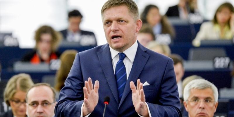 Premier Słowacji Robert Fico, źródło: www.eu2016.sk