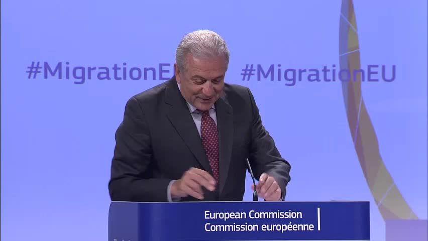 Dimitris Avramopoulos, źródło: EC Audiovisual Services