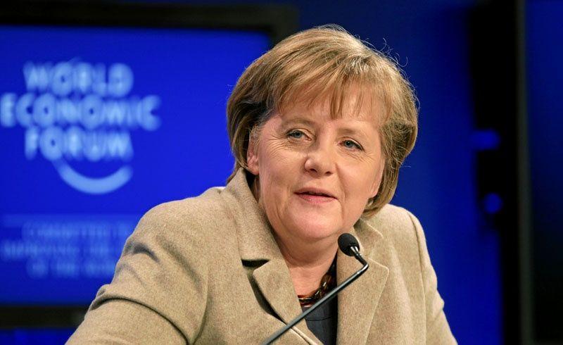 Kanclerz Niemiec Angela Merkel, źródło WEF/swiss-image.ch/Photo by Sebastian Derungs