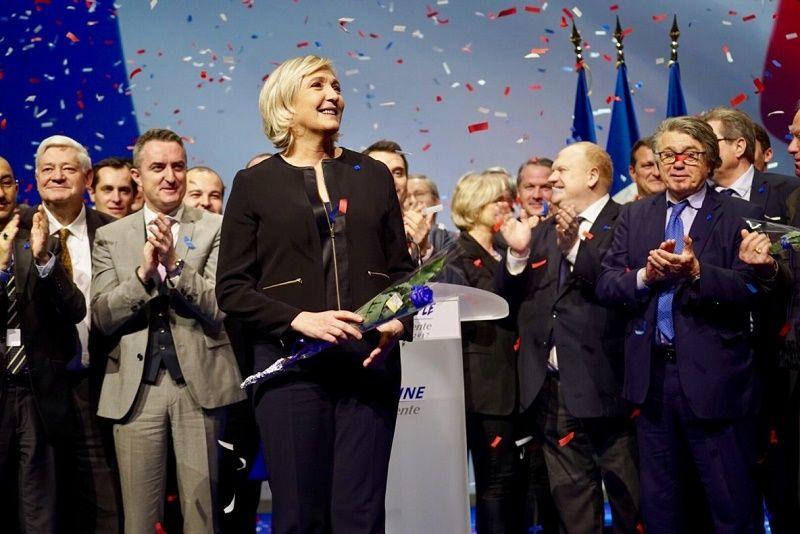 Marine Le Pen, źródło: www.marine2017.fr