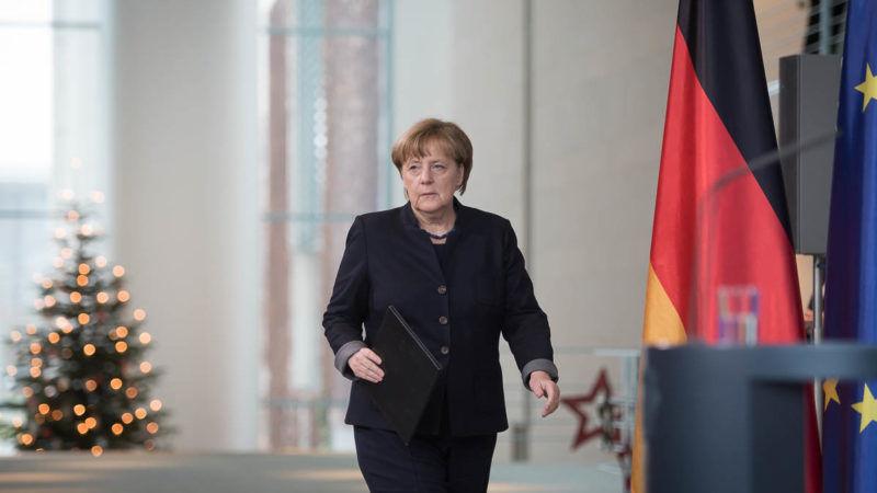 Angela Merkel, kanclerz Niemiec// Źródło: Bundesregierung