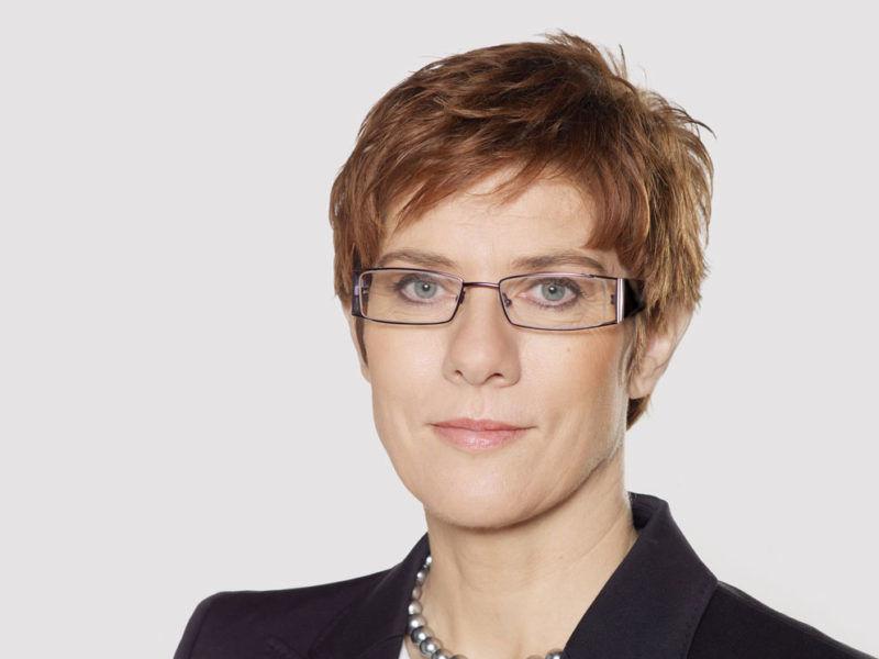 Przewodnicząca CDU Annegret Kramp-Karrenbauer, źródło: CDU