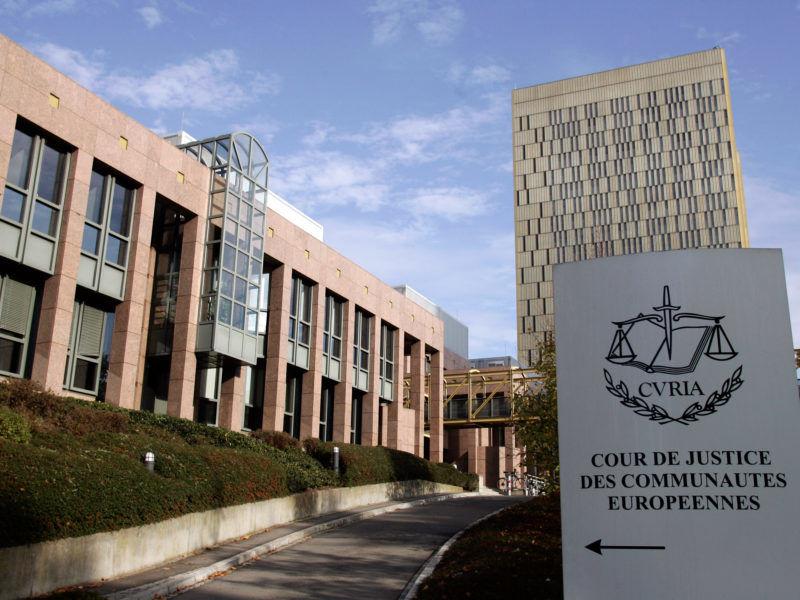Trybunał Sprawiedliwości UE w Luksemburgu, Źródło: Curia
