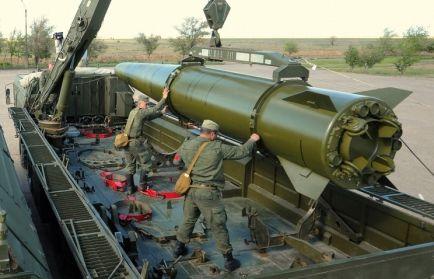 Pocisk Iskander, źródło: Ministerstwo Obrony Federacji Rosyjskiej