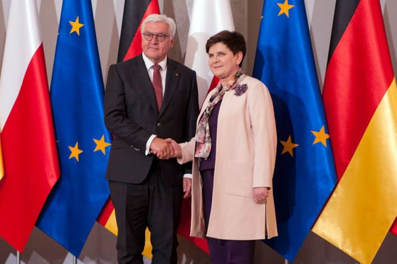 Frank-Walter Steinmeier w Warszawie