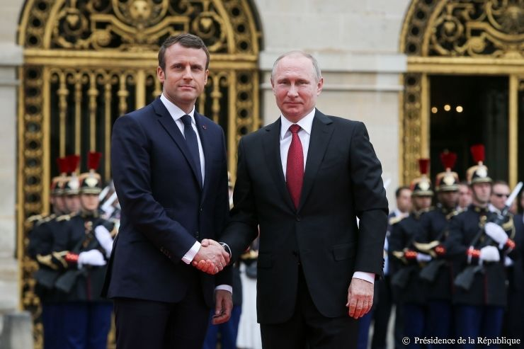 Macron i Putin