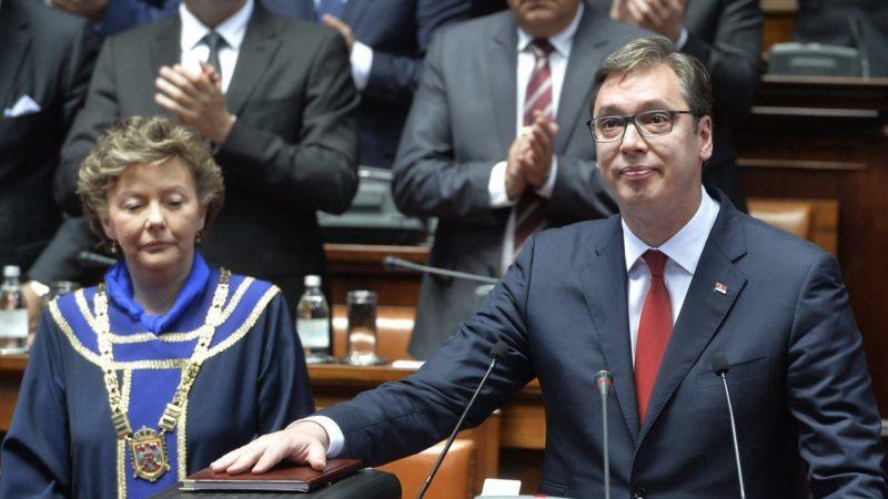 Aleksandar Vučić - zaprzysiężenie