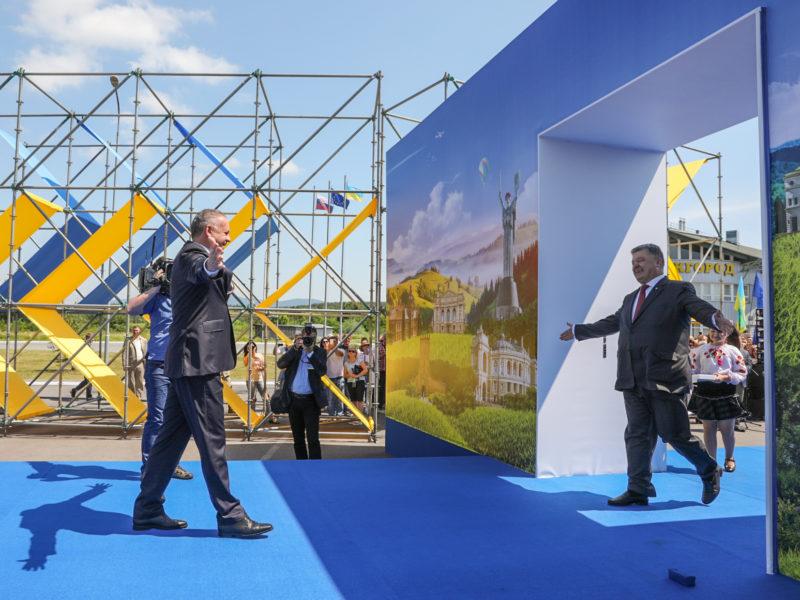 ruch bezwizowy dla Ukrainy