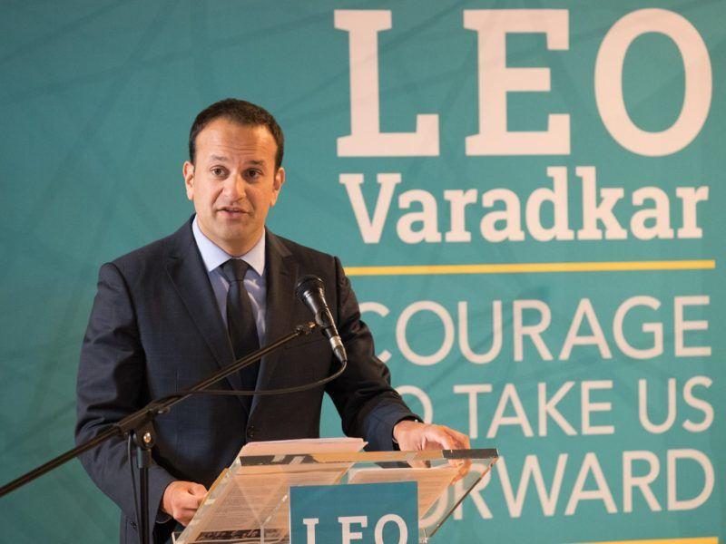 Lider Fine Gael Leo Varadkar