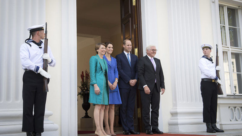 William i Kate w Niemczech