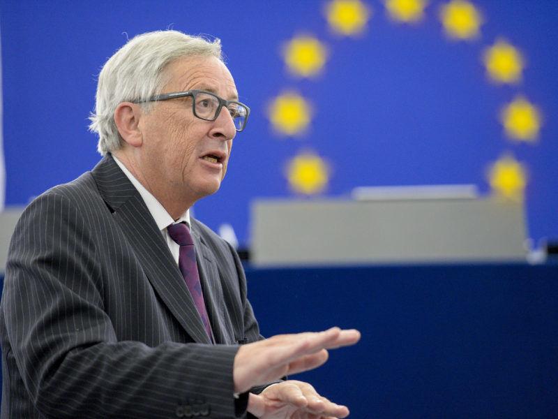Szef KE Jean-Claude Juncker, źródło: PE