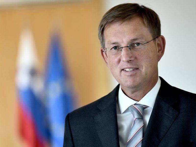 Premier Słowenii Miro Cerar