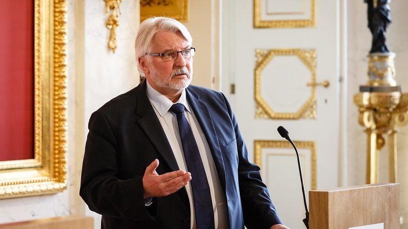 Były szef polskiej dyplomacji Witold Waszczykowski, źródło: MSZ