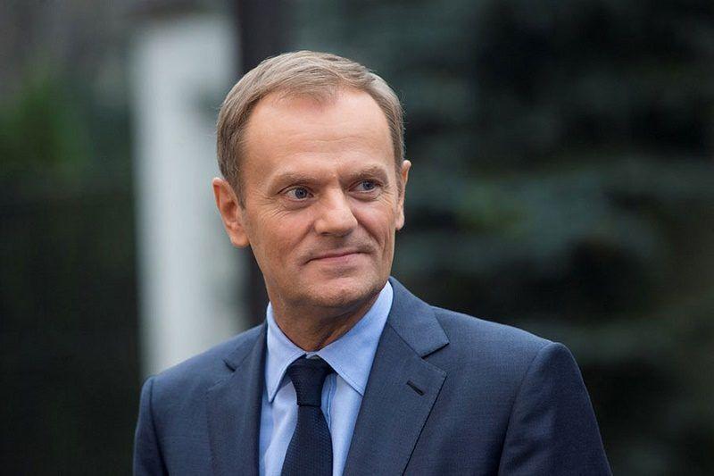 Szef Rady Europejskiej Donald Tusk, źródło: consilium.europa.eu