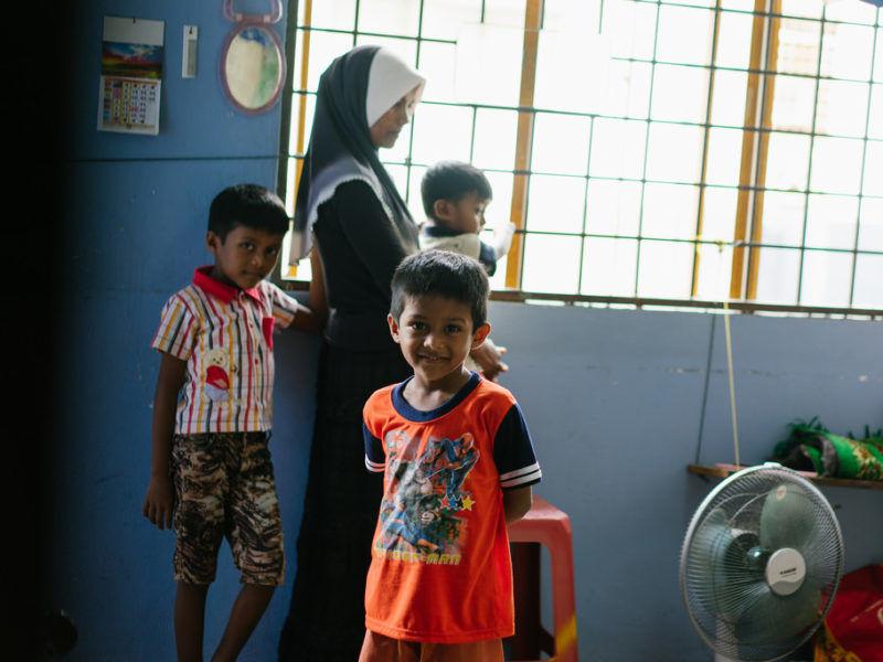 Uchodźcy z grupy etnicznej Rohindża, źródło: Flickr