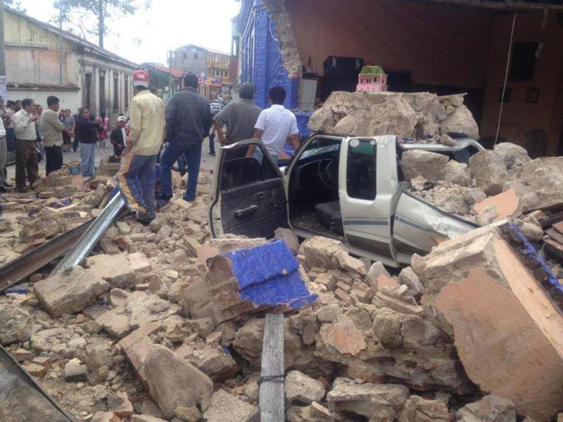 Skutki trzęsienia ziemi w Meksyku, źródło Wikipedia