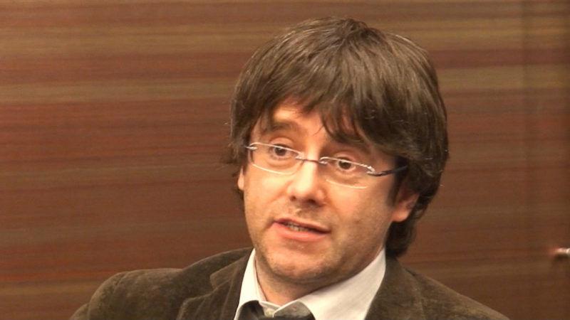 Carles Puigdemont, źródło Flickr