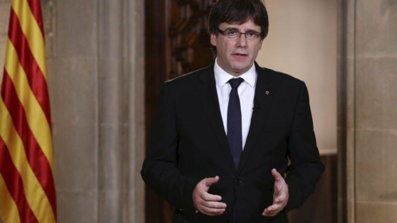 Carles Puigdemont, źródło: euractiv.com [Handout photo EPA]