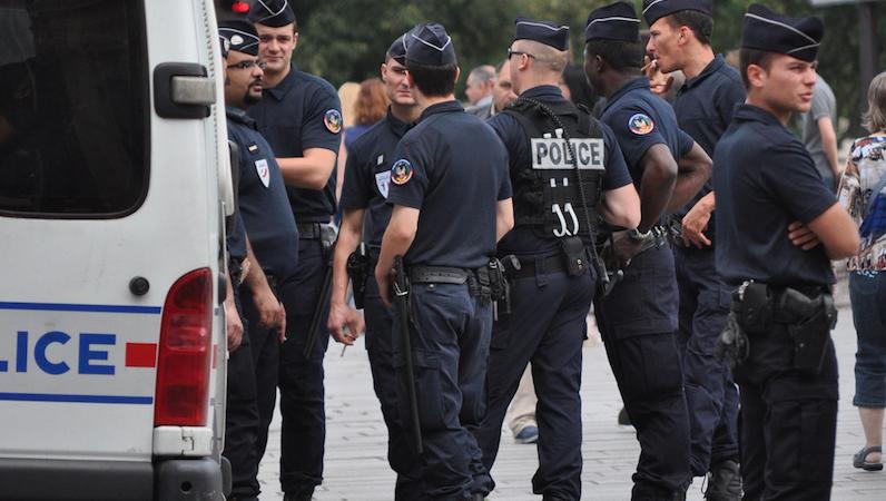 Francuscy policjanci, źródło Flickr