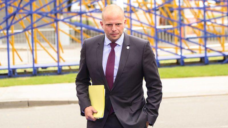 Lider flamandziej nacjonalistycznej partii N-VA Theo Francken, źródło Wikipedia