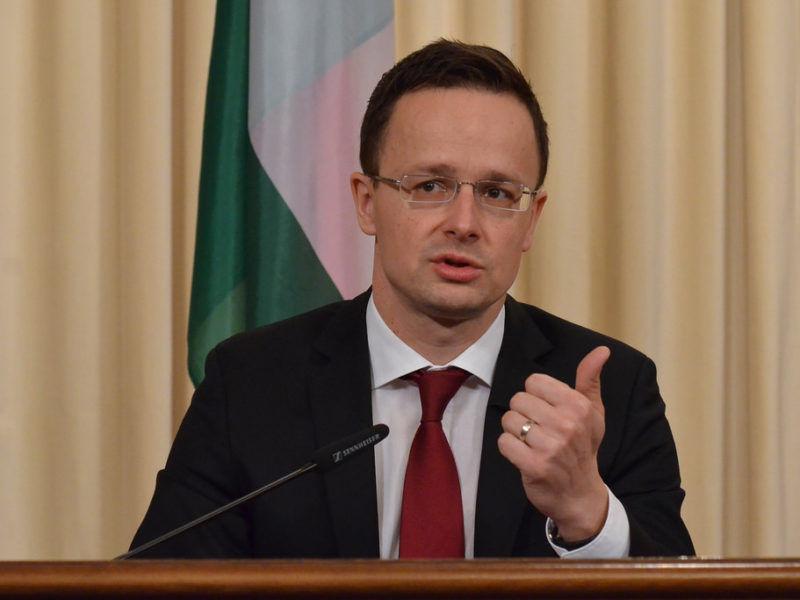 Minister spraw zagranicznych Węgier Peter Szijjarto, źródło Flickr