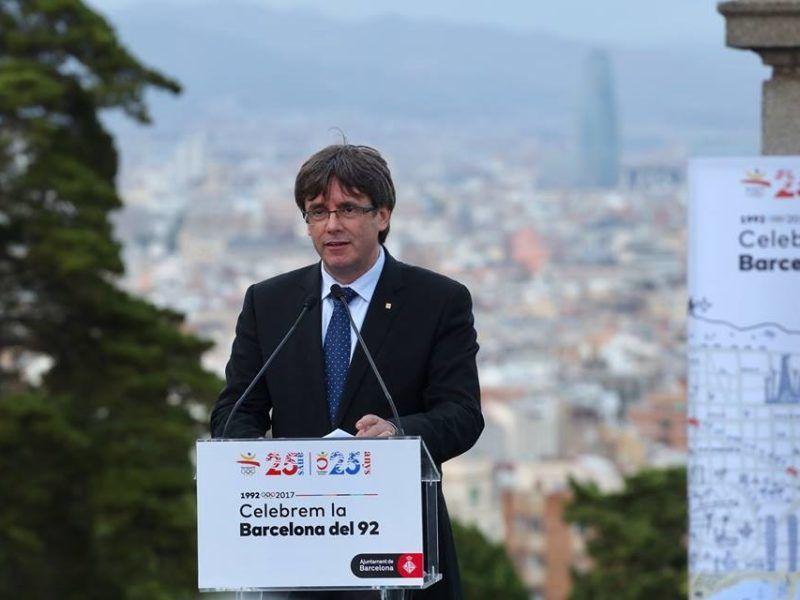 Carles Puigdemont, źródło: Facebook