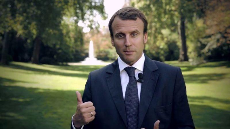 Emmanuel Macron, źródło Wikipedia