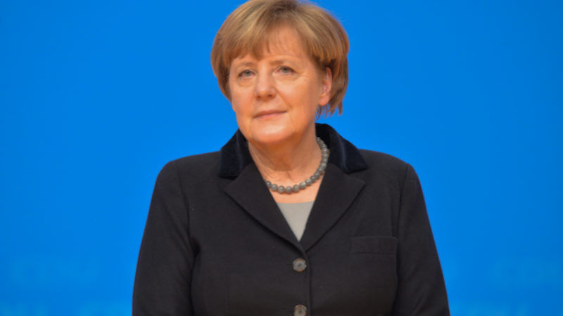 Kanclerz Niemiec Angela Merkel, źródło Wikipedia