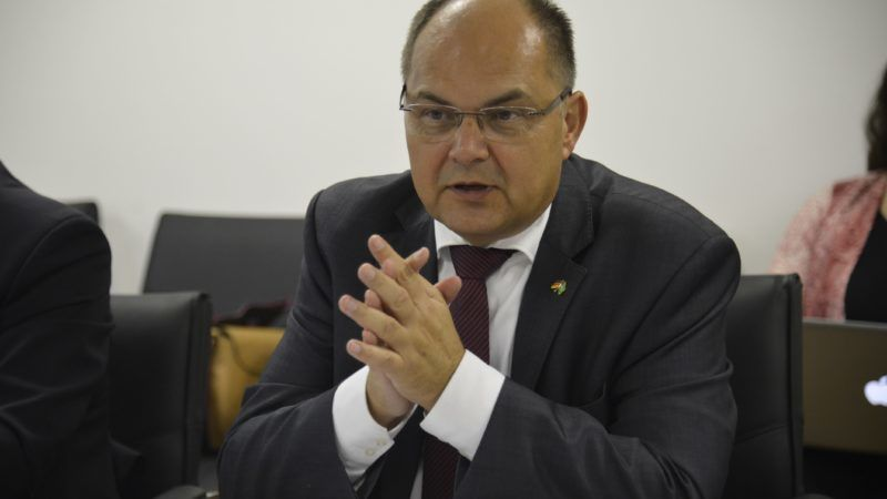Minister rolnictwa Niemiec Christian Schmidt, źródło: Wikipedia