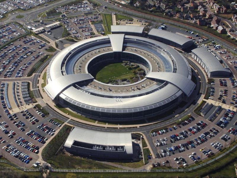 Nazywana potocznie The Doughnut, czyli Pączkiem nowoczesna siedziba GCHQ w Cheltenham w Wielkiej Brytanii, źródło Flickr