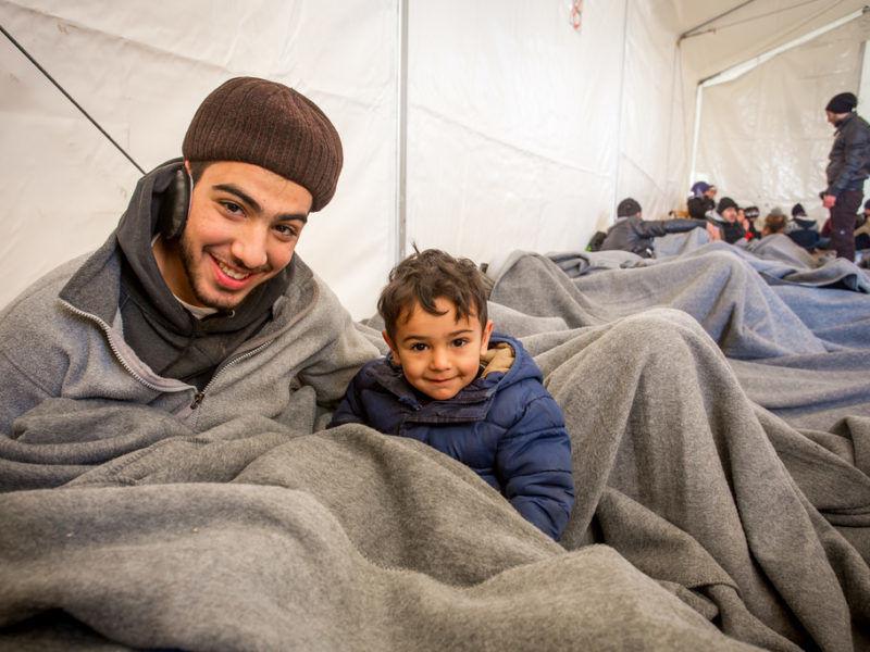 Syryjscy uchodźcy na terenie Grecji, styczeń 2017 r., źródło Flickr