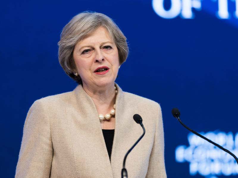 Theresa May, źródło Flickr