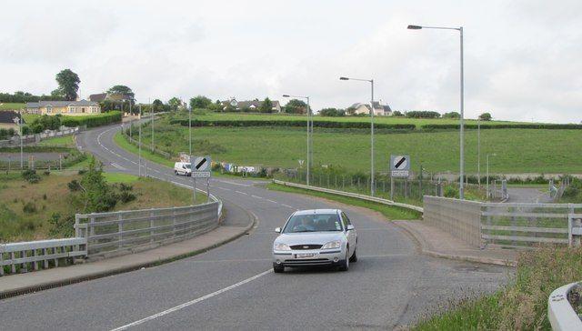 Dziś granica między Irlandią a Irlandią Północną wygląda tak. Czy powróci tzw. twarda granica?, źródło Flickr