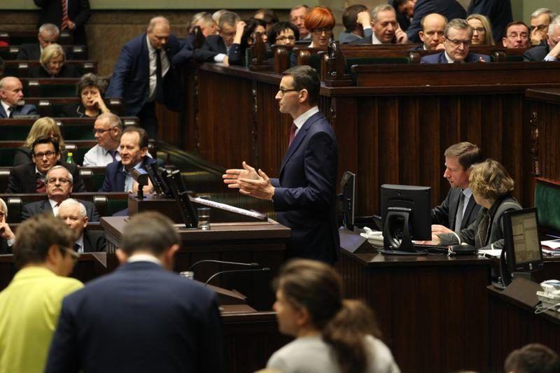 Premier Morawiecki - expose, źródło: https://wysokienapiecie.pl/rynek/2763-co-premier-morawiecki-zapowiedzial-dla-energetyki.html#dalej