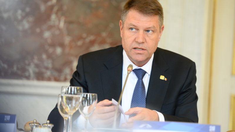Prezydent Rumunii Klaus Iohannis, źródło Wikipedia