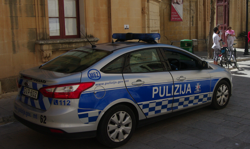 Radiowóz maltańskiej policji, źródło Wikipedia