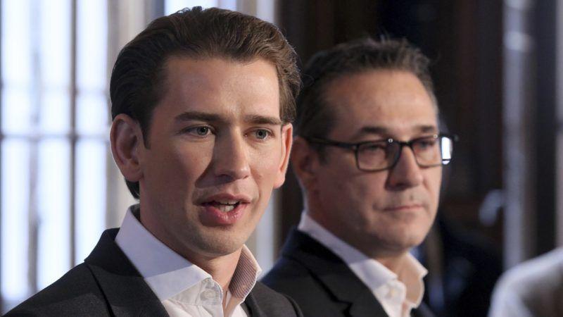 Sebastian Kurz i Heinz-Christian Strache, źródło: Amt des Bundeskanzlers der Republik Österreich