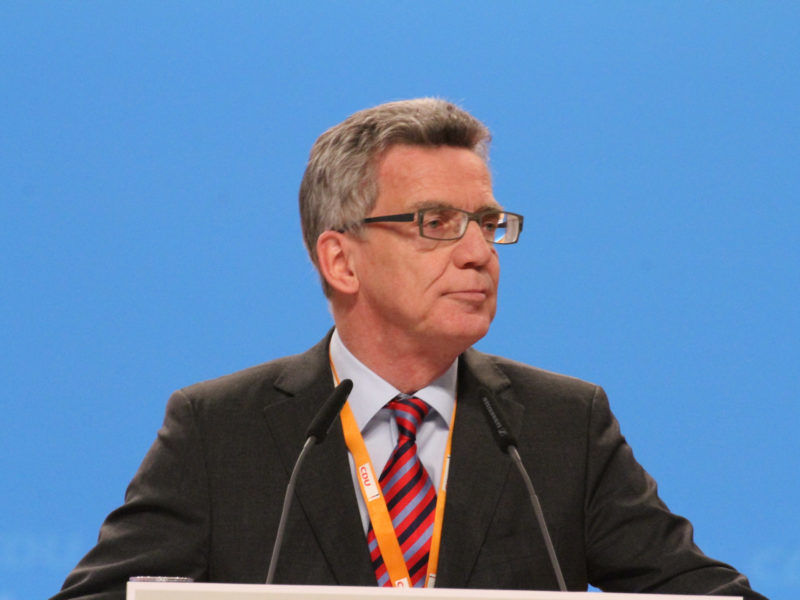 Thomas de Maizière, źródło Wikipedia