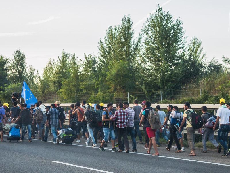 Uchodźcy, źródło Flickr