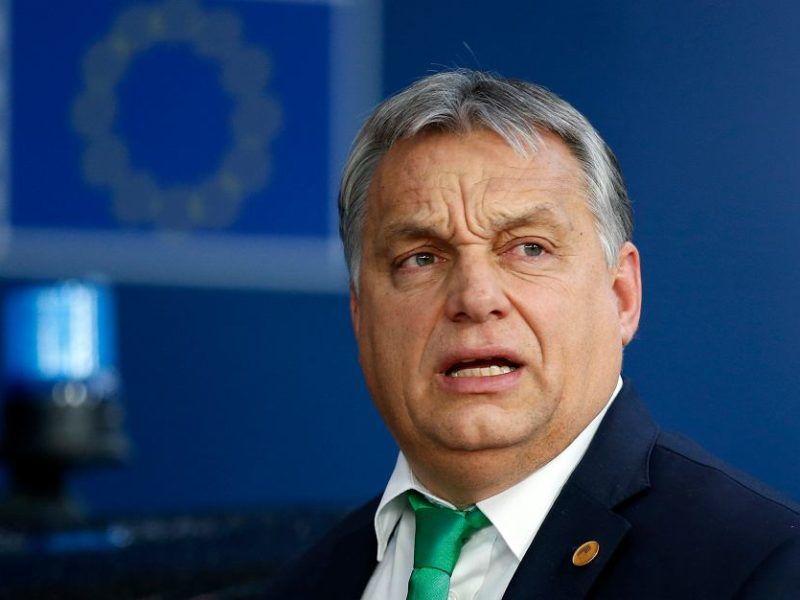 Premier Węgier Viktor Orban, źródło: https://wyborcza.pl