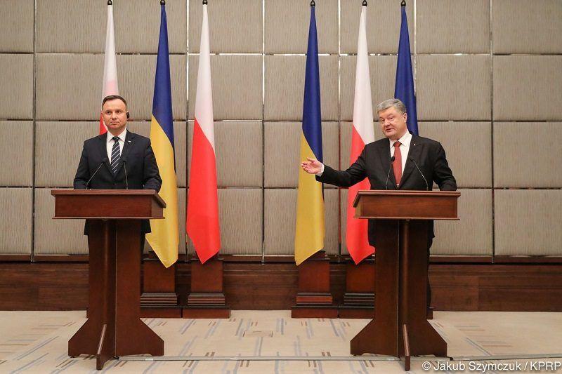 Prezydenci Polski i Ukrainy - konferencja prasowa w Charkowie, źródło Jakub Szymczuk KPRP