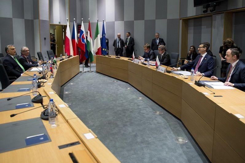 spotkanie V4 przed szczytem w Brukseli, źródło KPRM