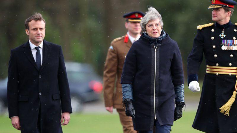 d7a9807a63c3af Wielka Brytania i Francja podpisały nowy traktat ws. Calais ...
