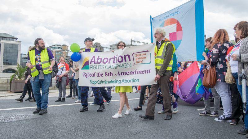 Zwolennicy liberalizacji prawa do aborcji w Irlandii, źródło Flickr