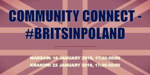 Community Connect - #BritsinPoland @ Hotel Kossak Kraków 1, plac Kossaka