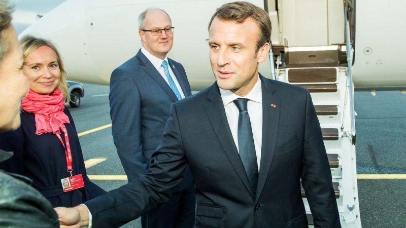 Emmanuel Macron, źródło Flickr