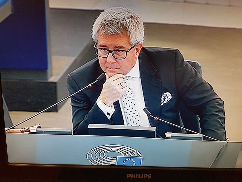 Europoseł PiS Ryszard Czarnecki, źródło twitter.com/r_czarnecki/ media