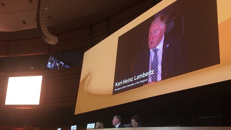 Szef Komitetu Regionów Karl-Heinz Lambertz, źródło: twitter.com/CoR_President/media