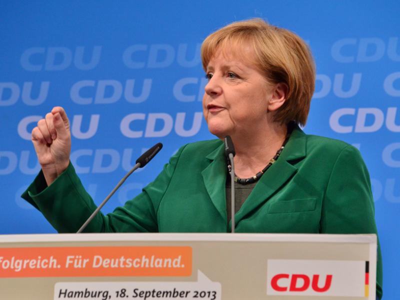 Kanclerz Angela Merkel, źródło Flickr